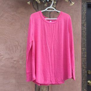 NWOT Xhilaration XL Pink Sweater